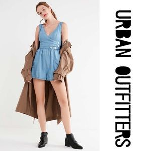 Urban Outfitters Jean Romper